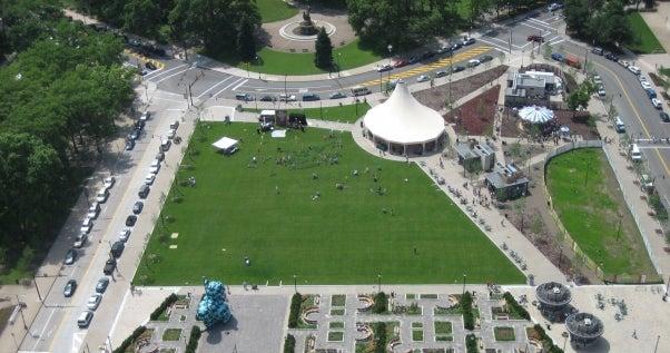 Schenley Plaza | Campus Tour