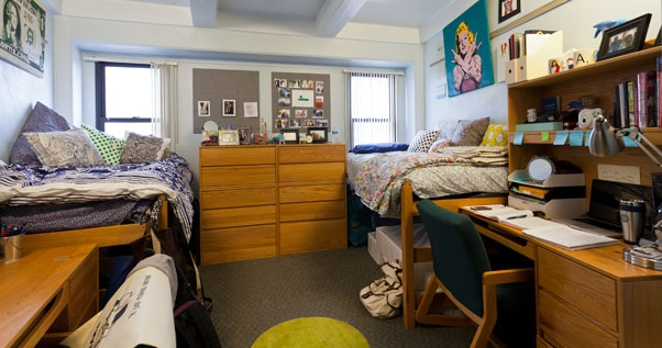 Litchfield Towers Dorm Room